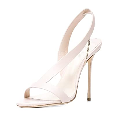 cf894eb1562d9 Amazon.com: LUCKY CLOVER-CC Sandals Women Ladies High Heel Stiletto ...