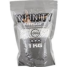 Valken Infinity 0.25g Ball Bearings, 1 Kg, White