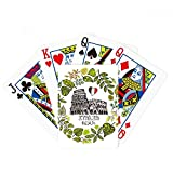 Colosseum Roma Italy Illustration Poker Playing Card Tabletop Board Game Gift