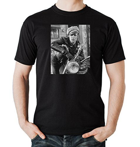 Brando Bike T-Shirt Black Certified Freak