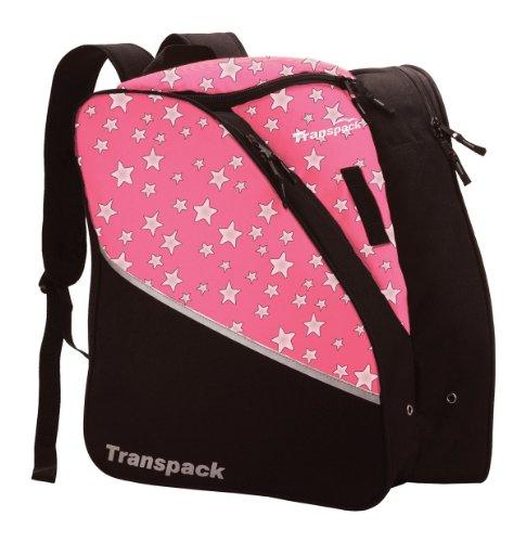 Transpack Edge Junior Ski Boot Bag Purple Floral