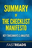 img - for Summary of The Checklist Manifesto: Includes Key Takeaways & Analysis book / textbook / text book