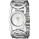 XOXO Women's XO5210 Silver-Tone Watch with...
