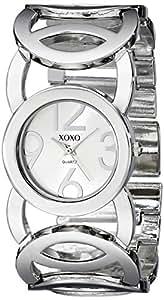 XOXO Women's XO5210 Silver-Tone Watch with Link Bracelet