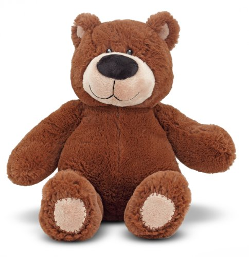 Melissa & Doug BonBon Bear – Teddy Bear Stuffed Animal (15 inches tall)