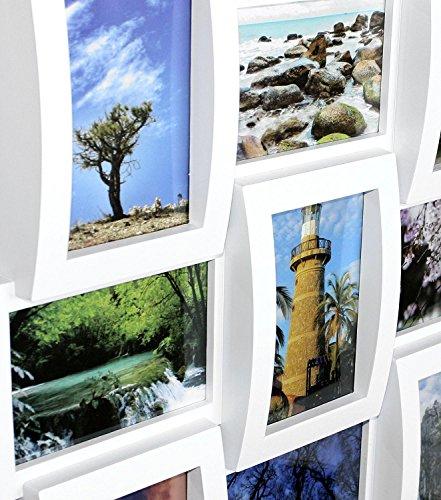 Close Up Portaretratos Multiple - Collage [Blanco] (10cm x 15cm): Amazon.es: Hogar