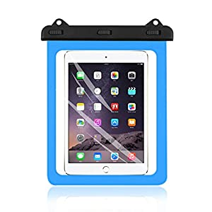 Universal iPad Waterproof Case, AICase Dry Bag Pouch for iPad Pro 10.5, New iPad 9.7 2017, iPad Pro 9.7, iPad Air/Air 2, Tablets up to 11.5 Inch (Blue)
