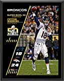 "Peyton Manning Denver Broncos Super Bowl 50 Champions 10.5"" x 13"" Sublimated Plaque - Fanatics Authentic Certified"