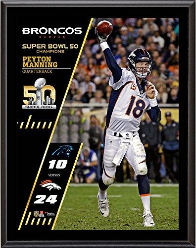 Broncos Super Bowl Team Denver - Peyton Manning Denver Broncos Super Bowl 50 Champions 10.5