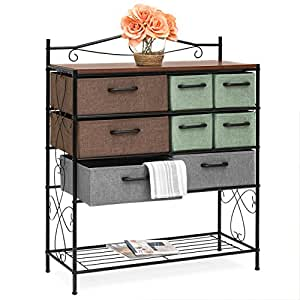 Amazon.com: Mejor Elección Productos 8-drawer metal Gabinete ...