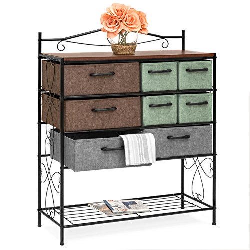 (Best Choice Products 8-Drawer Metal Storage Cabinet Chest (Multicolor) )