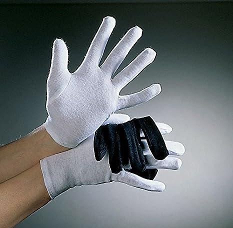 Niños guantes de algodón, de color blanco: Amazon.es: Juguetes y ...