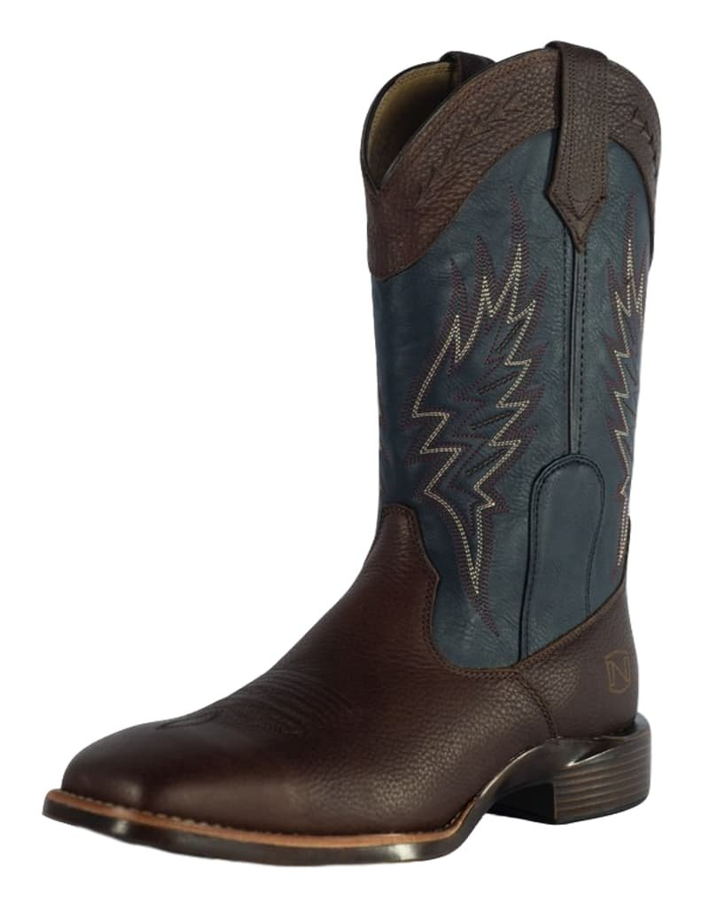 Noble Outfitters Mens All Around Square Toe B01I6WREJI 11W|Brown