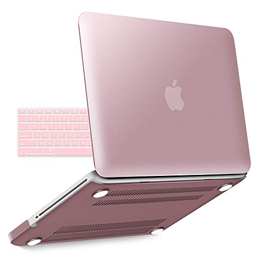 Generation Series Air - iBenzer Basic Soft-Touch Series Plastic Hard Case & Keyboard Cover for Apple MacBook Pro 13-inch 13