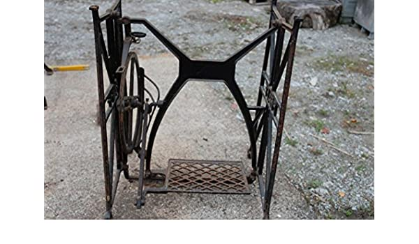 Unbekannt pie Máquina de Coser Pfaff Hierro Fundido Pedal Volante ...