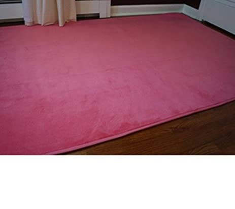 Microfiber Dorm Rug   Cherry Pink   6 X 9
