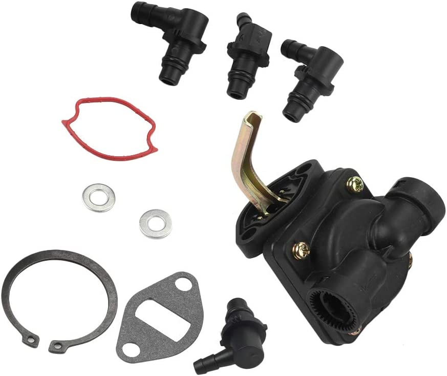 POEMQ K241 Fuel Pump Kit for Kohler K241 K301 K321 K341 M10 M12 M14 M16 John Deere AM134269 Gravely 38789 Replace 4755911-S 4755901-S 4755904-S 4755910-S 47-559-02-S 47-559-01-S A-235845-S A-235807-S