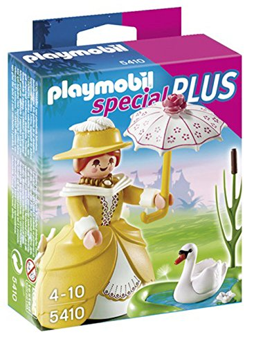 PLAYMOBIL Victorian Lady with Pond Playset