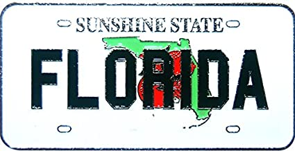 California USA-States License Plate Magnets