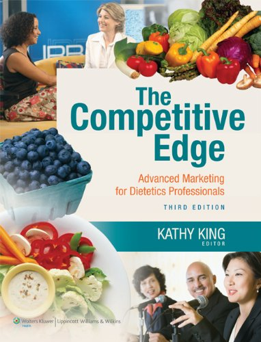 Professional dietetics the best amazon price in savemoney the competitive edge advanced marketing for dietetics professionals fandeluxe Images