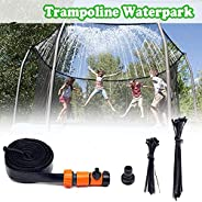 Landrip Trampoline Sprinkler, Kids Outdoor Trampoline Sprinklers System,Trampoline Waterpark Sprinkler