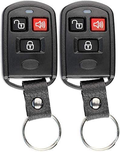 Key Fob fits 2003-2005 Kia Sedona // 2003-2005 Kia Sorento Keyless Entry Remote PLNBONTEC-T009 Set of 2