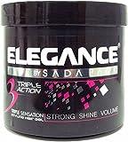 Elegance Triple Action Hair Gel Pink 1000ml
