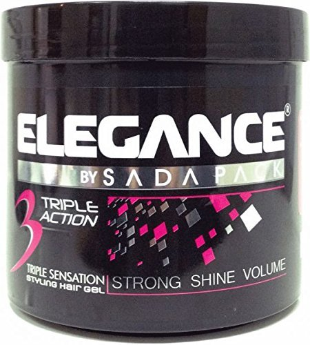 Elegance Triple Action Hair Gel Pink 1000ml by Elegance