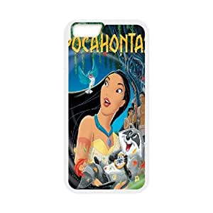 iPhone 6 4.7 Inch Cover Cell phone Case Pocahontas Imuzc Plastic Durable Cases