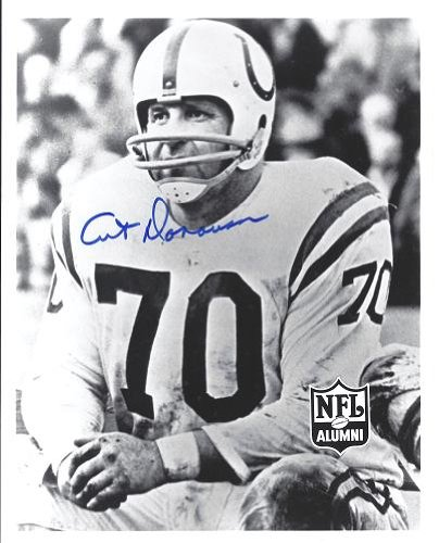 Art Donovan Signed - Autographed Baltimore Colts 8x10 inch Photo - Hall of Famer