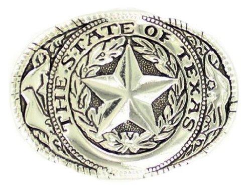 Buckle Seal (Nocona Boys' Texas Seal Buckle Silver One Size)