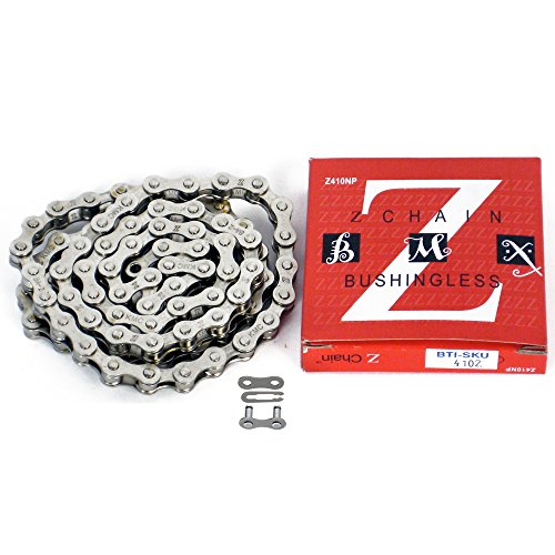KMC Z410 x 112L Silver NP Single Speed 1/2-1/8 Chain