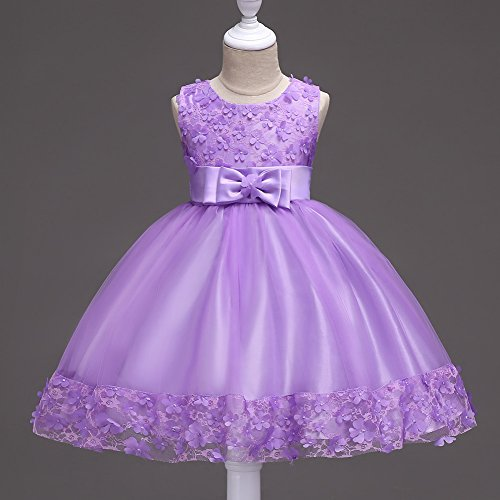 Y De RONG Vestidos Encaje XIU Trajes Niños Para violet 6EqzYwd