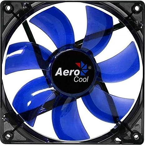 Aerocool Lightning 12cm - Ventilador de PC (Ventilador, Carcasa ...