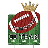 Big Dot of Happiness Homecoming - Party Decorations - Football Themed Welcome Yard Sign