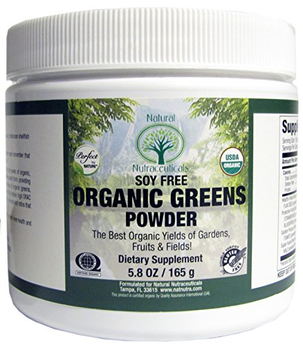 Organic Green SuperFood Powder Nutritional Supplement, 30 Servings, 5.8 oz