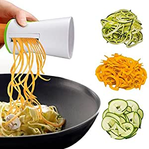 NexGadget Mini Smart Spiralizer Slicer with Cleaning Brush