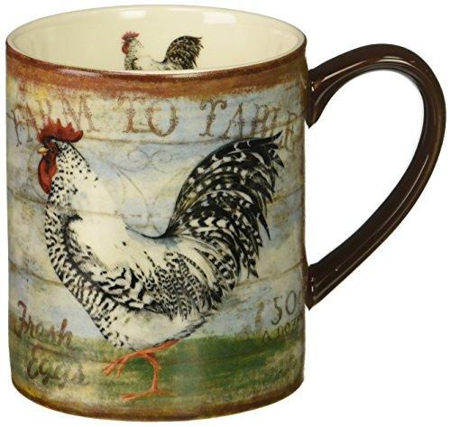 Lang Farm To Table Mug by Susan Winget, 14 oz, Multicolored