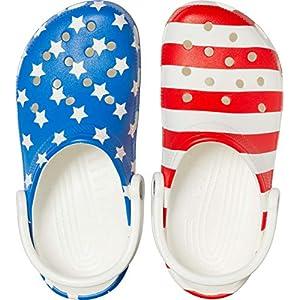 Women Classic American Flag Crocs