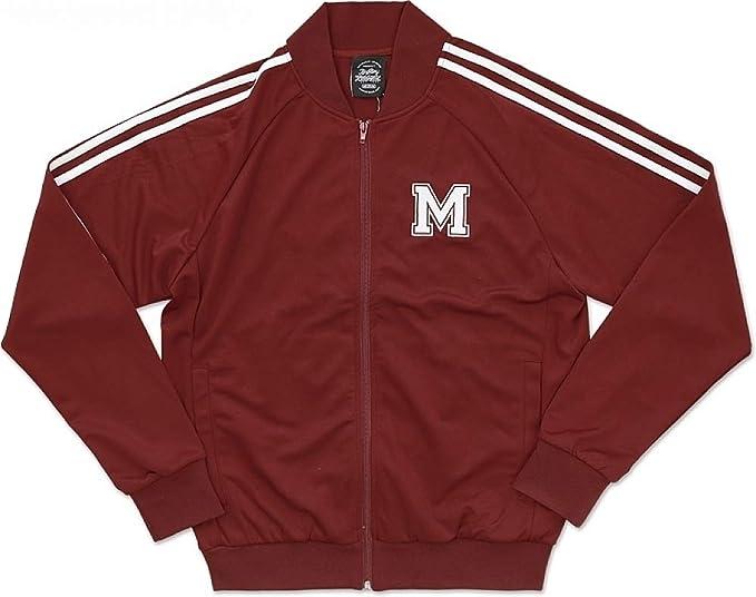 best service 39fb8 014a4 Big Boy Morehouse Maroon Tigers S2 Mens Jogging Suit Jacket