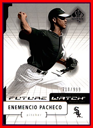 2004 SP Authentic #102 Enemencio Pacheco FUTURE WATCH RC CHICAGO WHITE SOX ROOKIE serial #718/999