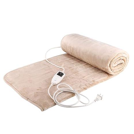 R&Y Mantas eléctricas Manta eléctrica, manta térmica de doble control, manta de calefacción eléctrica