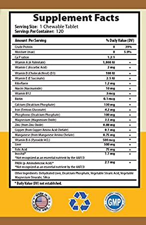Amazon.com : BEST PET SUPPLIES LLC dog minerals - POWERFUL ULTRA VITAMINS - FOR DOGS AND CATS HEALTH - ADVANCED COMPLEX FORMULA - vitamin a for dogs - 240 ...