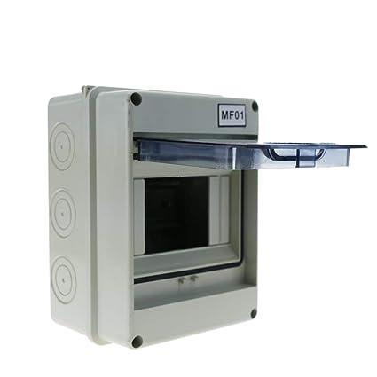 Cablematic - Caja de distribución eléctrica SPN 5M IP65 de superficie de plástico ABS HT