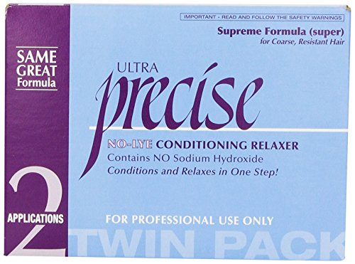 (Softsheen Carson Precise No-Lye Supreme Relaxer Twin Pack)
