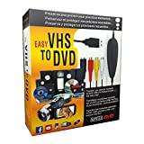 VHS VCR to Digital DVD Converter for Mac Windows PC Audio Video Capture