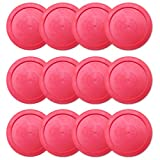Brybelly One Dozen Air Hockey Pucks, 2.5-Inch