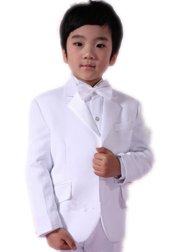 MLT Boy's Suits Custom Made Party Prom Wedding Suit Set (S)