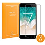 [3-PACK] UPPERCASE DuraGlass Premium Tempered Glass Screen Protector 3 Pack [ For iPhone 7、iPhone 6S、iPhone 6、iPhone 8 ] (3 Pack)