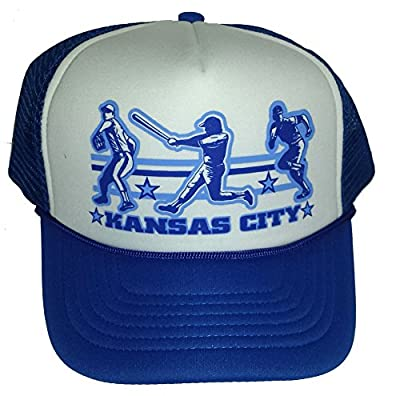 Kansas City Baseball Mesh Trucker Hat Cap Snapback